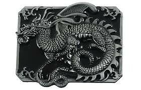 Belt Buckle - Metal - Mythical Dragon - Brand New