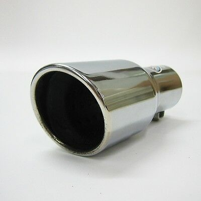 Chrome Exhaust Pipe Muffler Tail Tip For Mazda 121 Demio 3 Premacy 6 MX-5 Scrum