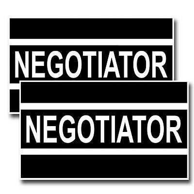 NEGOTIATOR Law Enforcement Decals Pack Of Two