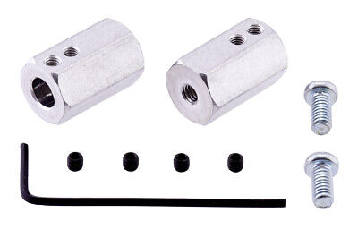 Pololu 12mm Hex Wheel Adapter for 6mm Shaft (2-Pack) 2686