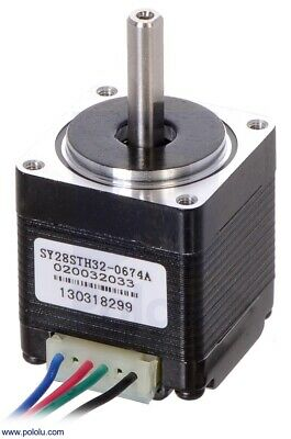 Pololu Stepper Motor NEMA 11 Bipolar 200 Steps/Rev 28×32mm 3.8V 0.67 A/Phase