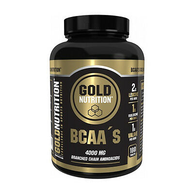 Aminoacidos Bcaa's 180 Tabletas - Gold Nutrition