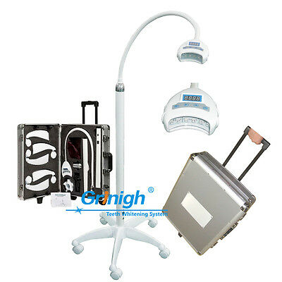 Dental Movable Teeth Whitening Machine Bleaching System Cold Blue Light Lamp, CE