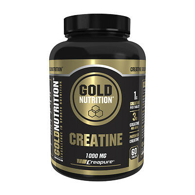 Creatina Creatine 1000 Mg 60 Tabletas - Gold Nutrition