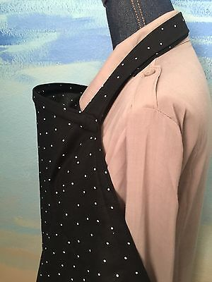 NEW  >NURSING COVER hider* BREASTFEEDING Cover Black Dot