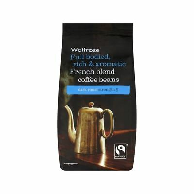 French Coffee Beans Waitrose 227g