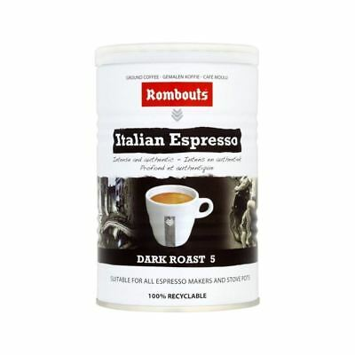 Rombouts Italian Style Ground Coffee 227g