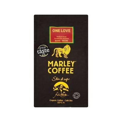 Marley Coffee Organic Medium Roast Coffee Beans - One Love 227g