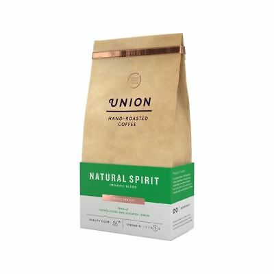 Union Coffee Organic Medium Roast Coffee Beans - Natural Spirit 200g