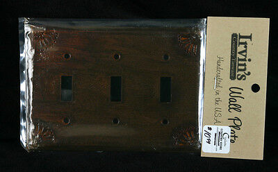 Light Switch Plate (Rusty) Made In The U.S.A.