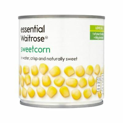 essential Naturally Sweet Sweetcorn Waitrose 326g