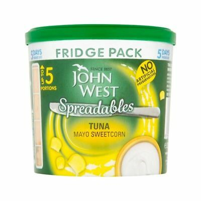 John West Fridge Pack Tuna Mayo Sweetcorn 255g