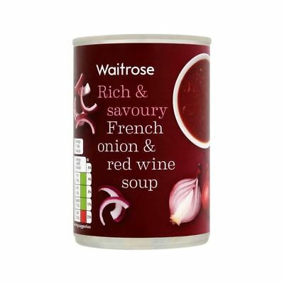 French Onion & Red Wine Soup Waitrose 400g