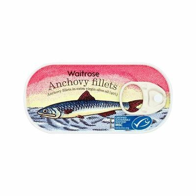 Anchovy Fillets In Extra Virgin Olive Oil Waitrose 50g
