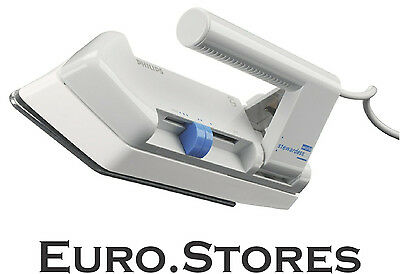 Philips HD1301/02 Fold-Flat Travel Iron Non-Stick Soleplate Dual Voltage Genuine