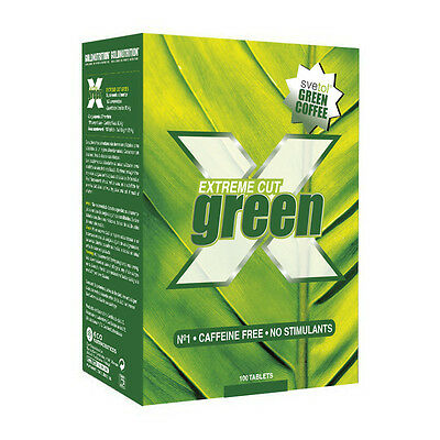 Quemagrasas Extreme Cut Green 100 Tabletas - Gold Nutrition