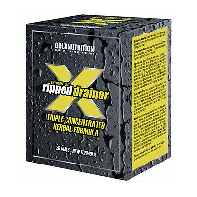 Diuretico Reductor Grasa Extreme Cut Ripped Drainer Gold Nutrition