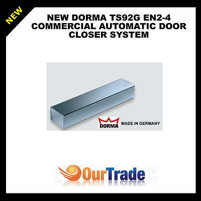 New Dorma Ts92G En2-4 Commercial Automatic Door Closer System * Made In Germany