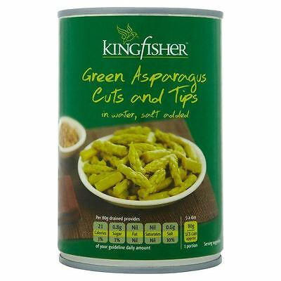 Kingfisher Green Asparagus Cuts & Tips 411g