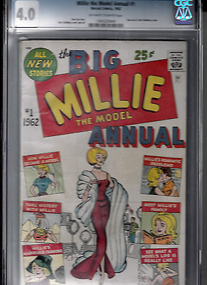 Millie The Model Annual #1  (1962, Marvel) Cgc 4.0  *marvel's 1St Annual*