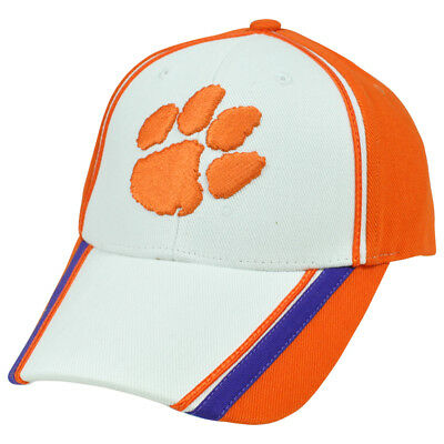 NCAA Hound Dog Unbrush Clemson Tigers Adjustable Constructed Curved Bill Hat Cap