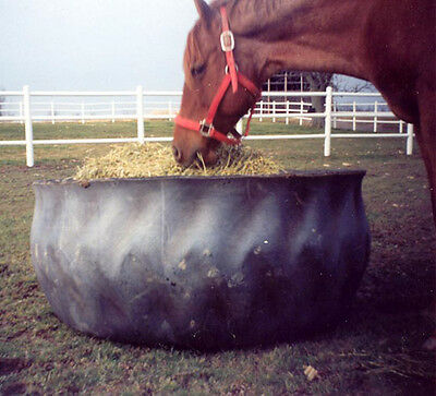 1 Rubber Horse Hay Feeder recycled tractor tire FREE Shipping**