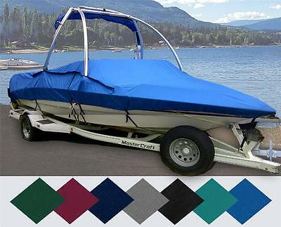 BLUE BOAT COVER FITS Sea Ray 230 1985-1995 1996 1997 1998 1999 2000 2001 2002
