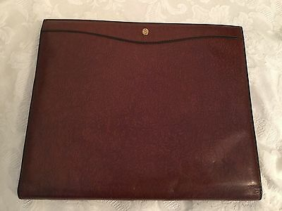 Goldpfeil Leather Desk Planning Diary Book Calendar Organization Office Germany