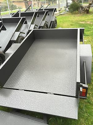 6X4 BOX TRAILER HEAVY DUTY *New wheels*