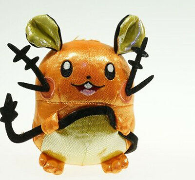 Nintendo Pokemon Center Collectible Plush Toy Dedenne Figure Stuffed Animal Doll