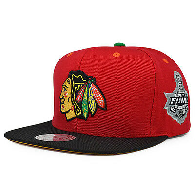 Chicago Blackhawks 5x Champions Snapback Mitchell & Ness NHL Hat