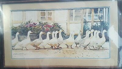 Dimensions crewel Dinner Call Geese 1330 FREE POST IN AUSTRALIA
