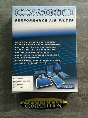 Cosworth Air Filter 20002282 Fits Subaru Brz & Toyota Gt86