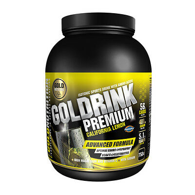 Isotonico Gold Drink Premium 750 Gr. Sabor Limon - Gold Nutrition
