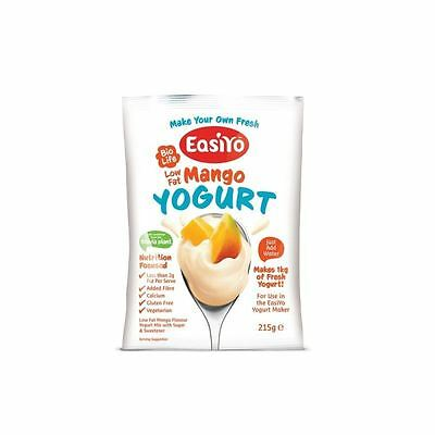 Easiyo Low Fat Sweet Mango Yoghurt Mix 215g