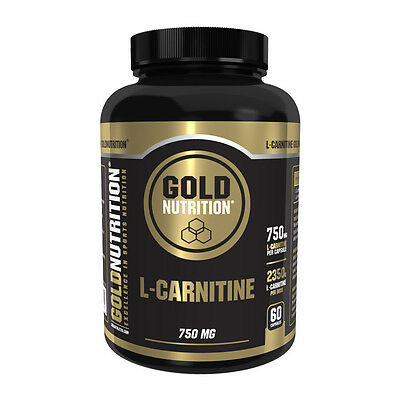 L-CARNITINA 750 Mg. 60 CÁPSULAS GOLD NUTRITION
