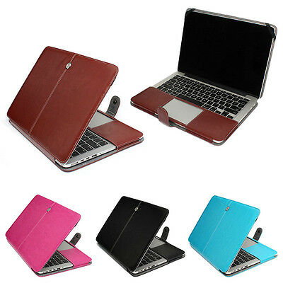 PU Leather Laptop Case Sleeve Bag Cover for MacBook Air 11 13 Pro 13 15 Retina