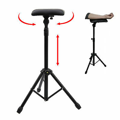 Tattoo Stand bras repose-jambes fauteuil-lit en studio Portable Tatouage