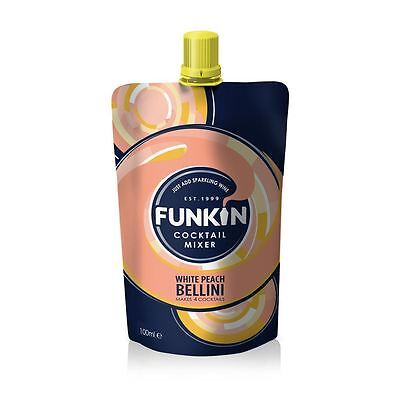 Funkin White Peach Bellini Puree* Mixer 100g