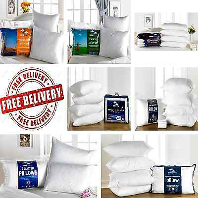 Various Luxury Pillows 2,4,6,8 & 10 Packs High Quality Better Dreams Pillows