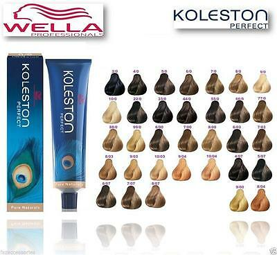 Wella Koleston Perfect Pure Naturals, Range Permanent Colour Dye-100% Genuine