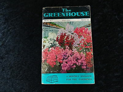 The Greenhouse Magazine - July 1961 Orhcids, Succulents, Marigolds