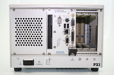 National Instruments PXI-1031 OEM Backplane w Chassis  + PXI-8175 Controller
