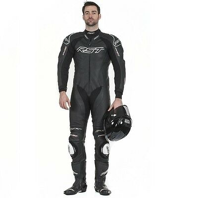 RST Tractech Evo 2 Leather 1 Piece Motorcycle Race Sports Suit - FREE DELIVERY