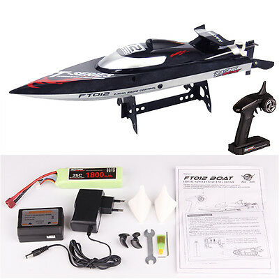 Brushless FT012 Upgraded 2.4G 45kmh Water Cooling High Speed RC Boot unsinkbar