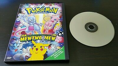 Pokemon The First Movie Dvd Anime Kids Feature Film Pikachu S