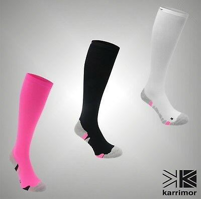 Ladies Branded Karrimor Running Anatomically Shaped Compression Socks Size 4-8