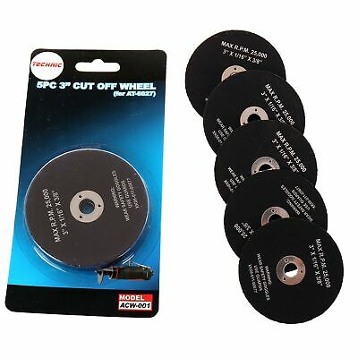 "5PC 3"" Air Cut Off Wheel Disc For NST-7037 AT-7037 Cutter Grinder"