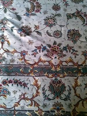 Extreme Fine Exquisite Rare Hand Knotted Wool with Silk Rug 8x10