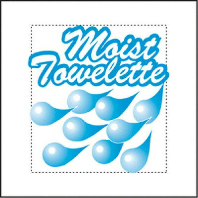 "100 Moist Towelettes ""wet Naps"" Indiv. Wrapped, Lemon Scented (Bag Of 100)"
